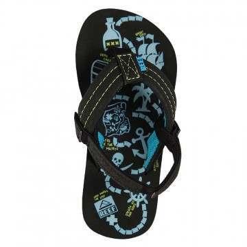 Reef Boys Ahi Glow Sandals Blue Glow