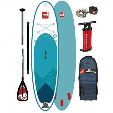 Red Paddle Ride 10ft 8 Inflatable Paddleboard 2020