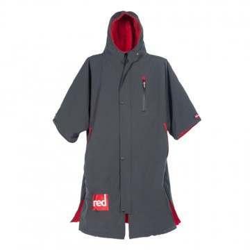Red Paddle Pro Changing Jacket Grey