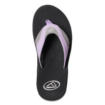 Reef Fanning Sandals Grey/Purple