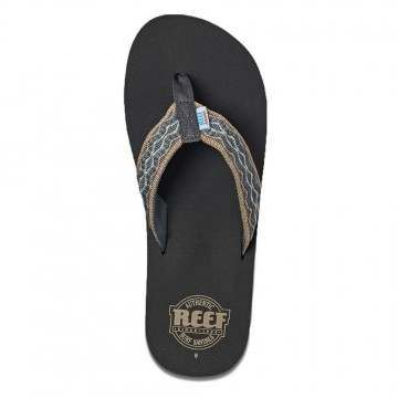 Reef Smoothy Sandals Grey/Green