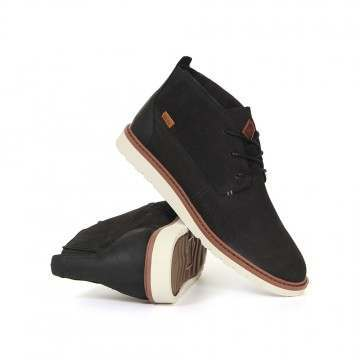 Reef Voyage Boots Black Natural