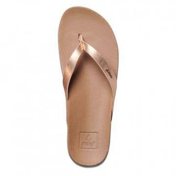 Reef Cushion Bounce Court Sandals Rose Gold