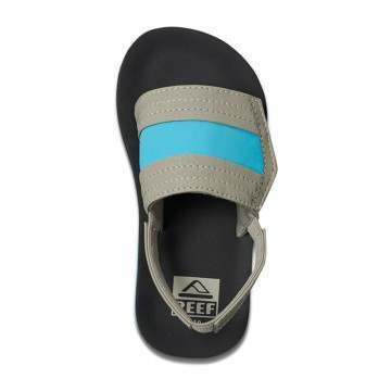 Reef Infant Boys Little Ahi Slide Sandals Gry/Blue