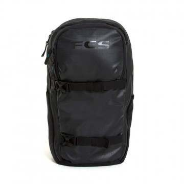 FCS Roam 25L Surf Backpack Black