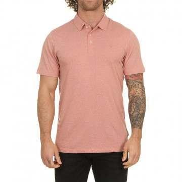 Volcom Wowzer Polo Shirt Sandstone