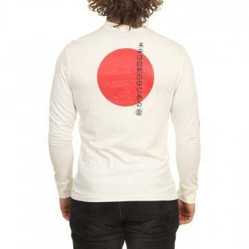 Element Takashi Long Sleeve Top Off White