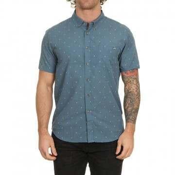 Billabong All Day Jacquard Shirt Deep Ocean