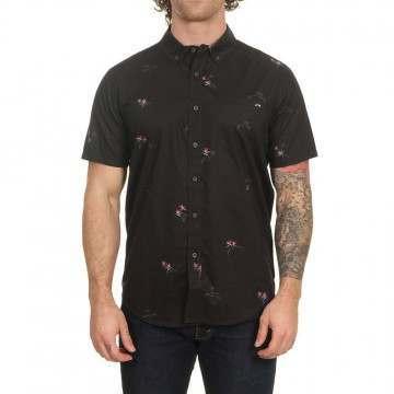 Billabong Sundays Mini SS Shirt Black Aqua