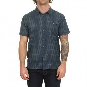 Billabong Sundays Jacquard SS Shirt Dark Indigo