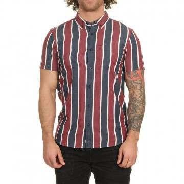 Element Icon Stripes Shirt Indigo Stripe