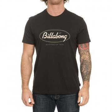 Billabong State Beach Tee Black
