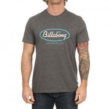 Billabong State Beach Tee Dark Heather