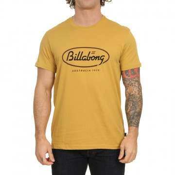 Billabong State Beach Tee Gold