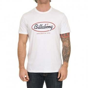 Billabong State Beach Tee White