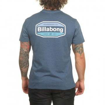 Billabong Gold Coast Tee Denim Blue