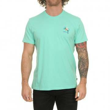 Billabong Paradise Bird Tee Light Aqua