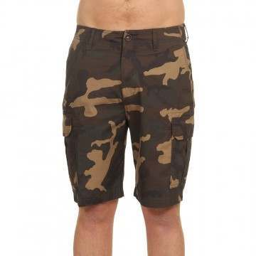 Billabong Scheme Cargo Shorts Military Camo