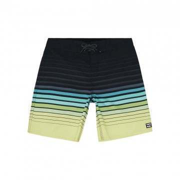 Billabong Boys AD Stripe OG Boardshorts Lime