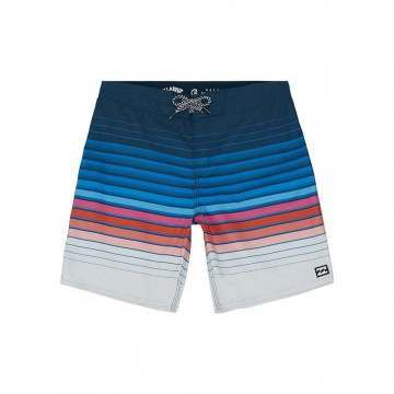 Billabong Boys AD Stripe OG Boardshorts Navy