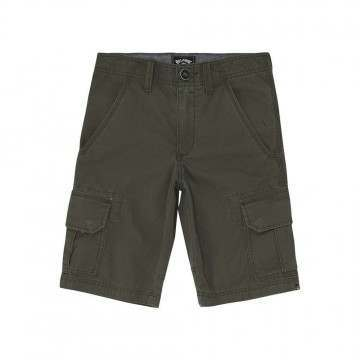 Billabong Boys Scheme Cargo Walkshorts Military