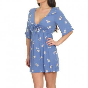 Billabong Gone Skippin Dress Costa Blue