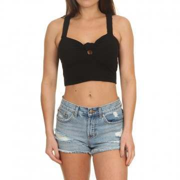 Billabong Knot In Love Top Black