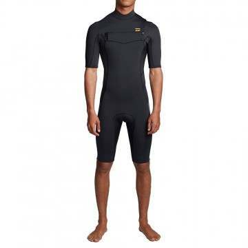 Billabong Furnace Absolute FZ Shorty Wetsuit Black