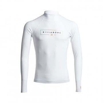 Billabong Unity Long Sleeve Rash Vest White