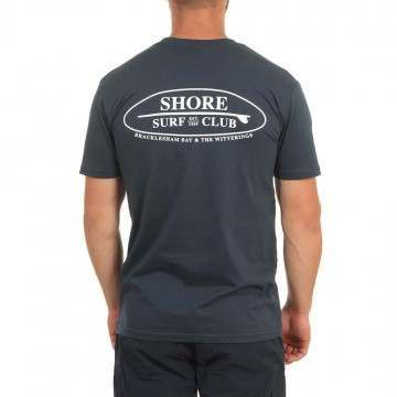 Shore Local Surf Club Tee Indigo