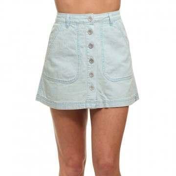 Rhythm Daybreak Skirt Denim