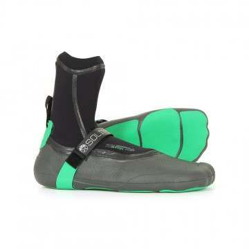 Solite 3MM Custom Pro Moldable Wetsuit Boots Lime