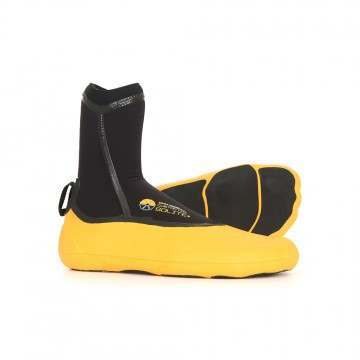 Solite 6MM Custom Moldable Wetsuit Boots Yellow