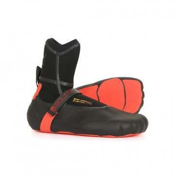 Solite 8MM Custom Fire Moldable Wetsuit Boots Red