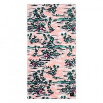 Slowtide Outrigger Beach Towel Pink