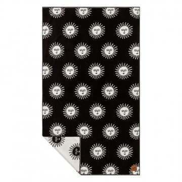 Slowtide Slow Burn Towel Black