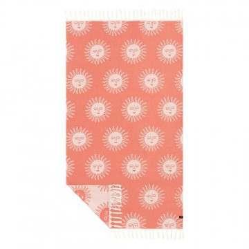 Slowtide Sunny Beach Towel Red