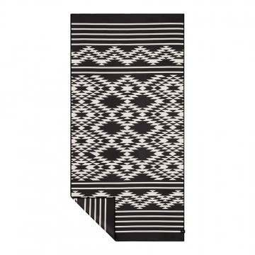Slowtide Badlands Travel Towel Black