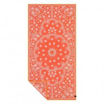 Slowtide Paisley Park Red Travel Towel Red