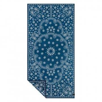 Slowtide Paisley Park Navy Travel Towel Navy