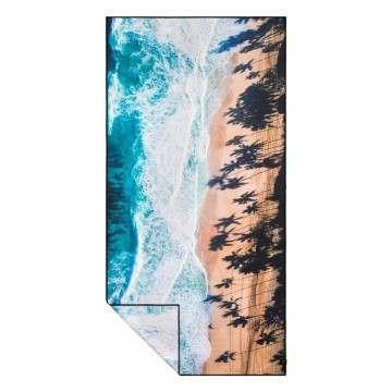 Slowtide Cast Travel Towel Blue