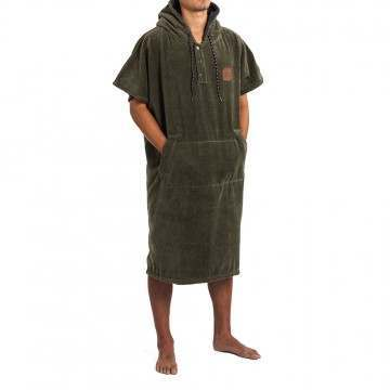 Slowtide The Digs Poncho Changing Towel Green