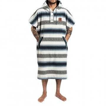 Slowtide Oso Poncho Changing Towel White