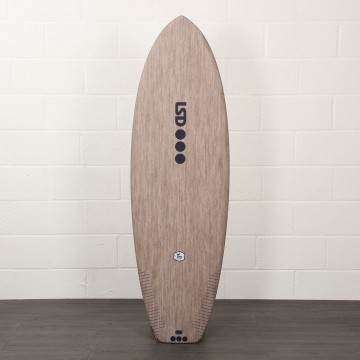 LSD Tex Surfboard FLAX 5Ft 4 Futures