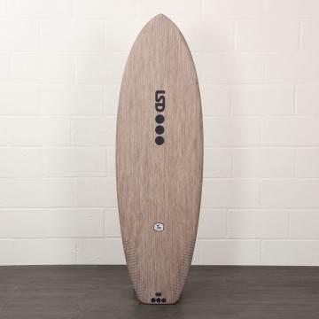 LSD Tex Surfboard FLAX 5Ft 8 Futures