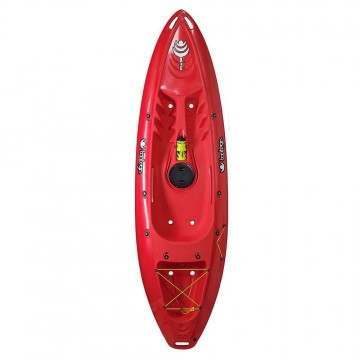 Tootega Pulse 85 Hydrolite Kayak Red