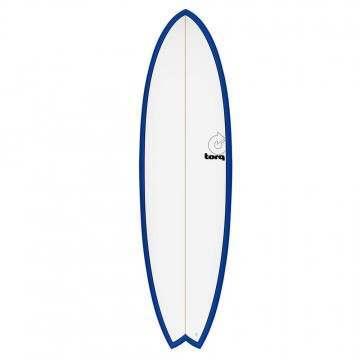 Torq Mod Fish Surfboard 6ft 3 Navy Pinline