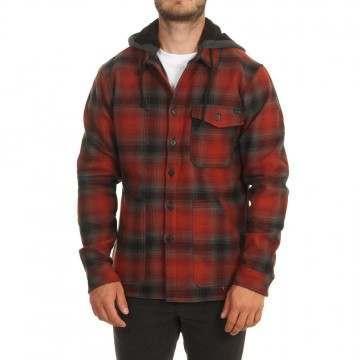 Billabong Furnace Bonded Shirt Jacket Red