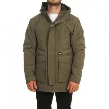 Billabong Alves Parka Jacket Military Heather