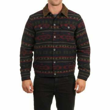 Billabong Barlow Sherpa Jacket Midnight